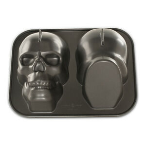 Nordic Ware Haunted Skull Baking Pan