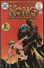 Kong the Untamed #1 DC Comics FN-VFN Bernie Wrightson cover White pages
