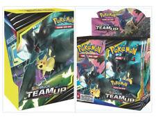 Pokemon Team Up Booster Box + Build & Battle Box Prerelease Kit Bundle PRESALE