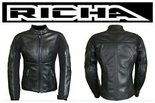 Richa Kelly LADIES soft stretchy leather motorcycle jacket - rrp £199.99