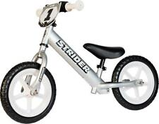 Strider 12 Pro Kids Balance Bike: Silver