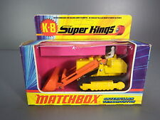 R&L Diecast: Matchbox Superkings K-8 Caterpillar Traxcavator Bulldozer Boxed