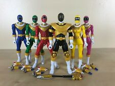 Power Rangers Legacy Zeo 6.5 Inch Action Figure Lot Collection