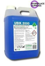 Clover Ubik 2000 5Ltr Heavy Duty Universal Cleaner Concentrate Degreaser 301