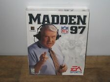 NEW FACTORY SEALED VINTAGE BIG BOX ORIGINAL RELEASE MADDEN 97 COMPUTER PC