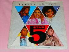 "VINYL 7"" SINGLE - SYSTEM ADDICT - 5 STAR - PB405515"