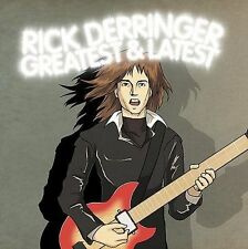Greatest and Latest by Rick Derringer CD Rock & Roll Hoochi Coo Best of