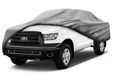 Waterproof Truck Car Cover for Dually CREW Cab LONG Bed up to 22' in length.