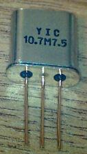 10M07A  10.7 MHz  7.5Khz  Bandwidth  Crystal IF Filter   New  UK stock