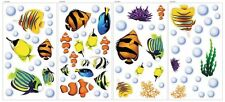 Under the Sea Decorative Peel and Stick Wall Art Sticker Decals , New, Free Ship