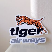 """#2953 Tiger Airways Singapore Airlines Baggage Label Luggage 3x2"""" Decal STICKER"""