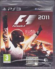 Ps3 PlayStation 3 **F1 ~ FORMULA 1 ~ 2011** nuovo sigillato italiano pal