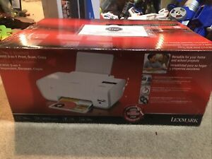 NEW LEXMARK X3650 Color 3-in-1 PRINTER  Print Scan Copy Home And Student