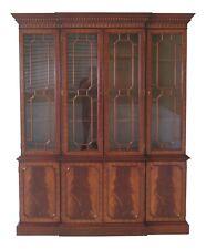48235Ec: Council Craftsmen 4 Door Flame Mahogany Breakfront