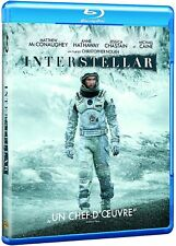 Interstellar (French Import Blu Ray) with slipcover!