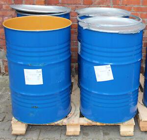 Metallfass Feuertonne Stahlfass Regentonne Regenfass 200 Liter blau einmal gebr.