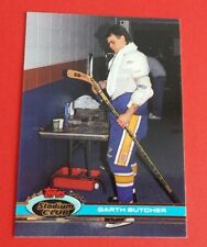 1991/92 Topps Stadium Club Garth Butcher Card #223***St. Louis Blues***