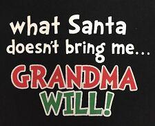 Christmas Grandma Santa Long Sleeve 6-9 Months