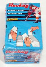 1989-90 Panini Hockey Sticker Box Sealed (100 Packs)