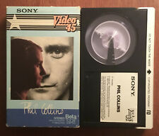 Phil Collins ~ Betamax (1983) ~ Sony Video 45 ~ IN THE AIR TONIGHT ~ RARE ~ OOP