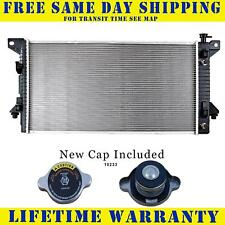 Radiator With Cap For Ford Fits Expedition F150 Navigator 4.6 5.4 V8  13099WC