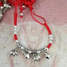 NEW Red String Kabbalah Good Luck Bracelet Elephant Bead Adjustable