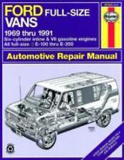 Haynes Repair Manual: Ford Full-Size Vans, 1969 Thru 1991