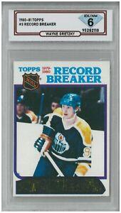 1980-81 Topps WAYNE GRETZKY #3 Record Breaker 💎 DSG 6