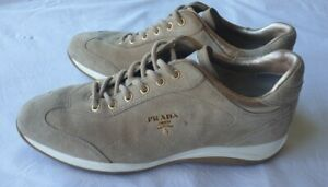 Prada beige suede casual walking shoes size-Eur40, great condition