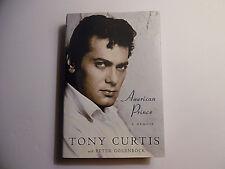 American Prince A Memoir, Tony Curtis HC DJ 2008 1st Edition Signed