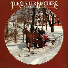 """THE STATLER BROTHERS """"CHRISTMAS CARD"""" PREMIUM QUALITY USED LP (VG+/EX)"""