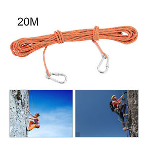 20M Outdoor Mountaineering Static Rock Rope Escape Rope Climbing Survival Cord