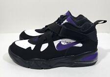 Nike Air Force Max CB 34 Mens Basketball Shoes Black Purple Size 12
