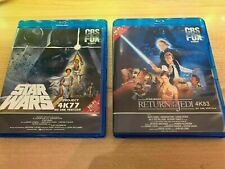 Star Wars Ep. 4 5 6 Single OR Double sets on Blu-Ray 1080p uk