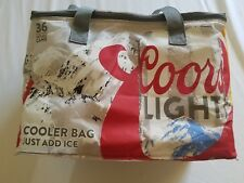 COORS LIGHT 2017 AUTHENTIC INSULATED COOLERS BOSTON BRUINS W/FREE SHIP