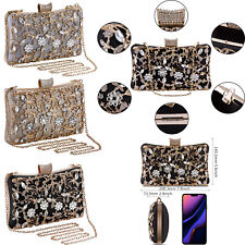 Womens Bags Crystal Evening Handbags Clutch Bags Wedding Purse Bridal Prom Party