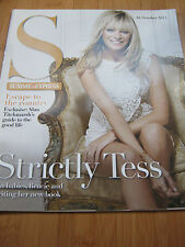 SUNDAY EXPRESS MAG 2011 TESS DALY STRICTLY COME DANCING SHARON GLESS DONNA AIR