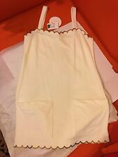 NEW  CHLOE IVORY/ GOLDY SEXY CRUISE  DRESS MADE IN ITALY $480 , rare SIZE 48