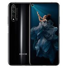 """New Huawei Honor 20 Midnight Black 6.26"""" 128GB Dual Sim 4G Android Sim Free Unlo"""