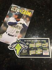 Columbia Fireflies Schedule Magnet &  Tim Tebow Program New York Mets