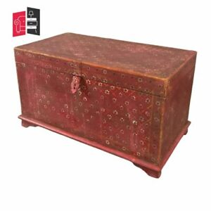 Pandora Hand Painted Indian Solid Wood Storage Trunk Box (MADE TO ORDER)