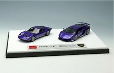 MakeUp EIDOLON 1:43 EMCOF012D Lamborghini SuperVeloche Set 2car Purple / Silver