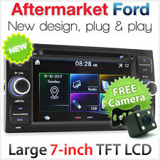 Ford Fiesta Focus Transit Car DVD Player Stereo Head Unit Radio MP3 USB CD SD AT