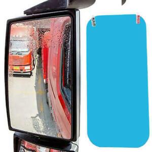 2pcs LKW Auto Rückspiegel Anti-Fog und Regen Film Blau Praktische Verwendung