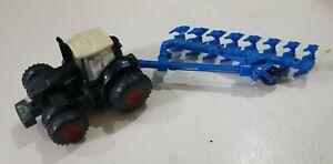 SIKU 1862 Plough & Tractor 1868 scale 1:87