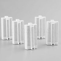 1/500 HO Scale White Building H-72MM For Outland Models Train Railway Layout
