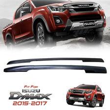 DARK GREY ROOF BAR RACK ROLL BAR FOR ISUZU D-MAX D MAX 2015 - 2017