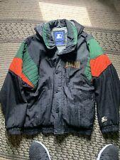 Vintage Starter Miami Hurricans Jacket (L)