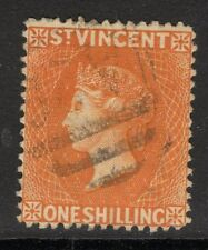 ST.VINCENT SG58 1891 1/- ORANGE USED