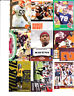 VIRGINIA TECH 54 CARD LOT -TYROD TAYLOR ROOKIE + MICHAEL VICK + BRUCE SMITH+FORD